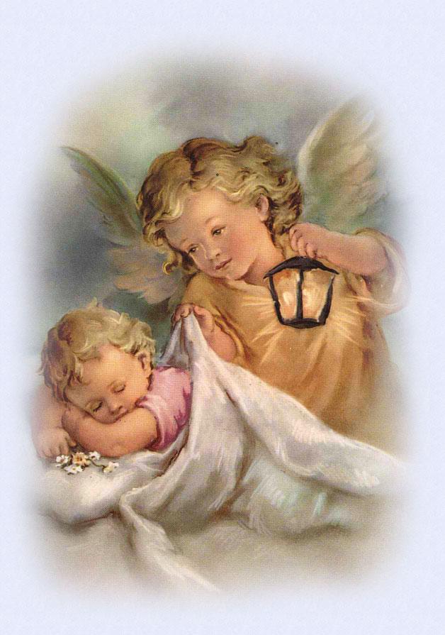 Preghiera del mattino agli angeli custodi alla ricerca for Quadri con angeli